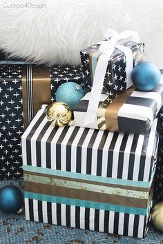 gift wrapping idea - Cuckoo4Design