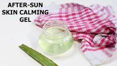 "46 Likes, 2 Comments - LITTLE DIY (@littlediypage) on Instagram: ""AFTER SUN SKIN CALMING GEL: . Use this diy all natural after-sun skin calming gel to prevent and…"""
