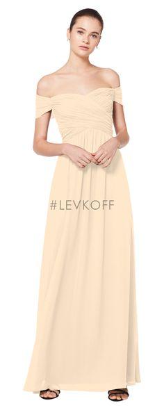 4a46844b58965 #LEVKOFF Bridesmaid Dress Style 7071
