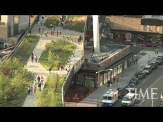 New York's New High Line Park - YouTube