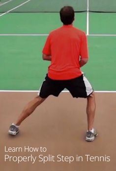 How to Properly Split Step in Tennis