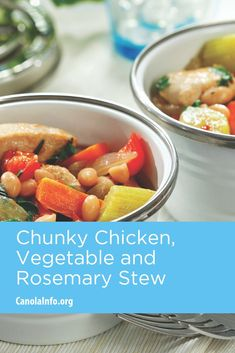 A healthy stew using chicken, vegetables and beans. Entree Recipes, Fall Recipes, Healthy Recipes, Healthy Comfort Food, Comfort Foods, Easy Weeknight Meals, Chicken And Vegetables, One Pot Meals, Soups And Stews