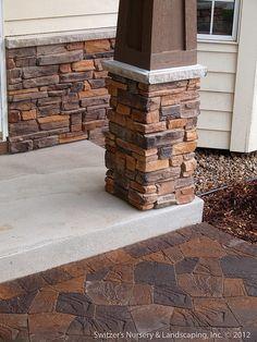 Front Entry Stoop & Sidewalk Renovation : Minnesota Landscape & Home Ideas by Switzer's Nursery & Landscaping, via Flickr