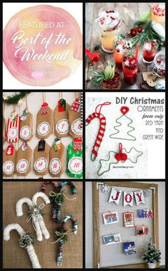 Week Before Christmas projects - includes advent calendars, candy canes, Christmas card storage, and more. Christmas Card Holders, Diy Christmas Cards, Diy Christmas Ornaments, Christmas Projects, Christmas Decorations, Holiday Decor, Farmhouse Christmas Decor, Rustic Christmas, Design Crafts