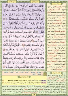 سورة الأنعام / صفحة ١٤٩ / مصحف التقسيم الموضوعي للحافظ المتقن