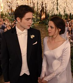 """Twlight: Breaking Dawn 1 & 2"" movies (2011-2012) - Robert Pattinson and Kristen Stewart"