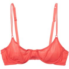 Cosabella Women's Soire New Molded Mesh Bra - Pink - Size 32B ($35) ❤ liked on Polyvore featuring intimates, bras, pink, multi way bra, multiway bra, mesh underwire bra, convertible bra and underwire bra