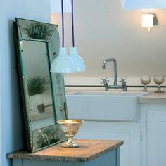 Soft Classic, Timeless Classic, Blue Pendant Light, Lights Please, Scandinavia Design, Simple Lines, Natural Light, Pendant Lighting, Repurposed
