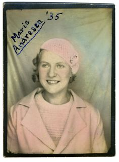 Photobooth | Marie | 1935 | by fraser donachie