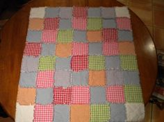You have to see Rag Quilt on Craftsy! - Looking for quilting project inspiration? Check out Rag Quilt by member jhof50519. - via @Craftsy