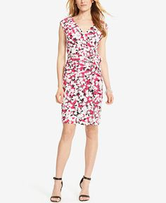 American Living Floral-Print Jersey Dress - Dresses - Women - Macy's