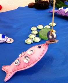 put sight words on fish that have washers-make fishing poles with sticks, string, and magnets