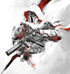 ArtStation - Tactical Fett v2.1, Marc Lee