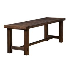Alpine Furniture Pierre Two Seat Bench $200
