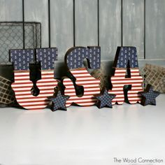 4th of July crafts/decor - Google Search