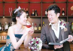 静岡市Sご夫妻 お二人の大人っぽい雰囲気とティアラがお似合いですね。末永くお幸せに!