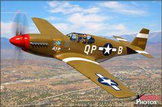 Air to Air Photo Shoot: Adversaries: Focke Wulf FW-190 A8-N and P-51C Mustang - September 28, 2012 - Warbird Photos Aviation Photography
