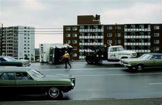 1970 Tornado Toppled Camper on Regent St., Sudbury ON - R. Orville Lyttle