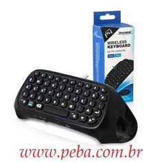 Mini Teclado Chatpad Bluetooth Para Controle Ps4 Playstation