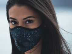 Airinum is raising funds for An urban breathing mask for the century on Kickstarter! The urban breathing mask for health-conscious global citizens Ninja Mask, Breathing Mask, Half Mask, Respirator Mask, Protective Mask, Fashion Face Mask, Festival Outfits, Mask Design, Running Women