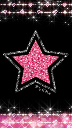 Star pink and black