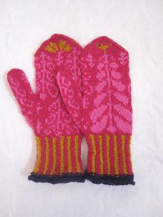 Eventyrvotter Mittens, Knitting, Design, Fashion, Pictures, Moda, Tricot, Fashion Styles, Fingerless Mittens