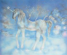 Salvador Dali (1904-1989) Teen Spanish. A Unicorn, Lithograph, Passed