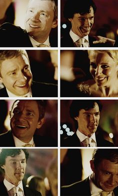 Dear lord, the looks on John and Sherlock's faces... excited at first, and then heartbreaking as they realize baby changes everything...