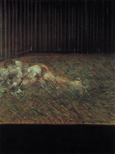 Two Figures in the Grass by Francis Bacon, 1954