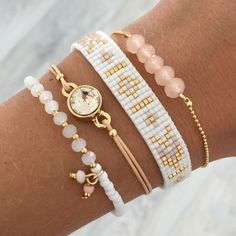Beads-armbandje 'Ibiza Dreams' - Mint15