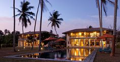 2 chic villas set in a tropical garden on the edge of the Indian Ocean. From $500 per night.