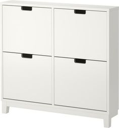 Ställ Shoe Cabinet With 4 Comparments - modern - shoeracks -  - by IKEA