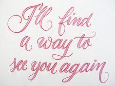 Encontrare la forma de verte otra vez ... ;)