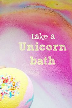 I think we all have days when we need to take a unicorn bath! Our brand new homemade Unicorn bath bomb is loaded with a rainbow of color and scented so sweet. Like taking a bath on a sweet unicorn cloud of bubbles. This bath bubble is a perfect ending to a stressful day. And a fun party favor for your unicorn party!