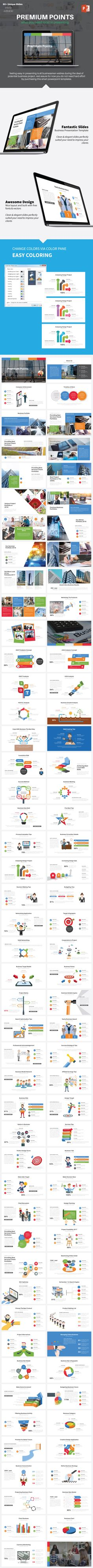Premium Point Template By Wattcore On Graphicriver Presentation A New Fresh Clean Professional And Multipurpose