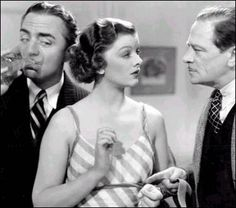 Myrna Loy and William Powell as Nick and Nora Charles in the Thin Man movies. If you haven't seen them, do so!