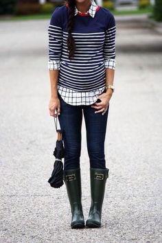 Love the layering of classic prints!