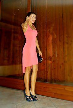 Gatta Vaidosa: Meu look: Vestido mullet!