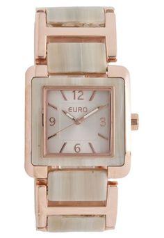 f4630c4591b Relógio Euro EU2035LVS4T Rosa Relogios Euro