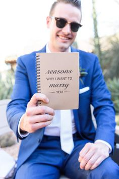 Cool Desert Wedding | Monique Hessler Photography | Bridal Musings Wedding Blog