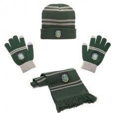 Harry Potter Muts + Sjaal + Handschoenen Zwadderich