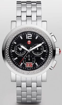 Michele Watch mww01k000001 sport sail chronograph with 118 diamonds at a great discount. $999.00