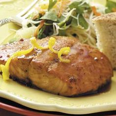 Double K Grilled Salmon Recipe from Taste of Home