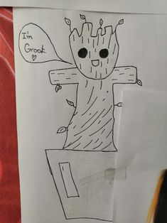 #groot #pencildraw #czech Pencil Drawings, Pictures, Drawings In Pencil, Photos, Photo Illustration, Resim, Clip Art