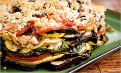 Vegetable Torte by Mark Bittman: Made in a springform.