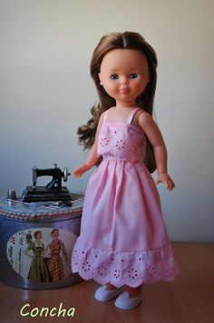 American Girl, Nancy Doll, Coraline, Couture, Step By Step Instructions, Doll Clothes, Flower Girl Dresses, Summer Dresses, Sewing