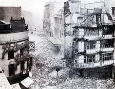 Bristol at War 1940 - Wine Street/High Street