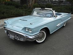 ✿ ❤ Ford Thunderbird Convertible 1959...Re-pin..Brought to you by #HouseInsurance #EugeneOregon Insurance for #cars old and new.