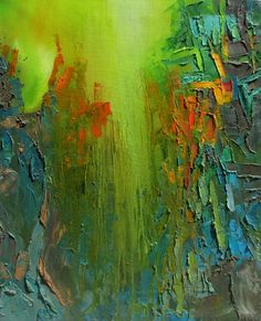 "Saatchi Online Artist: Abhishek Kumar; Oil 2013 Painting ""Element of Peace"""
