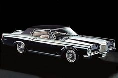 "1968 Continental Mark III by Lincoln...""All That A Luxury Car Should Be...""   still elegant after these years..."